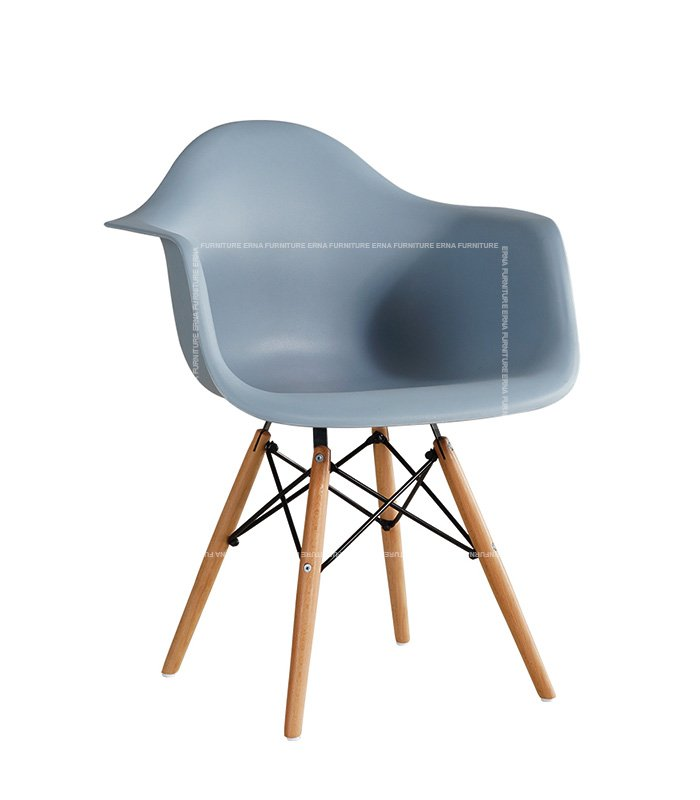 Charles-Ray-Eames-Style-DAW-Dining-Chair---ABS-Grey-Blue