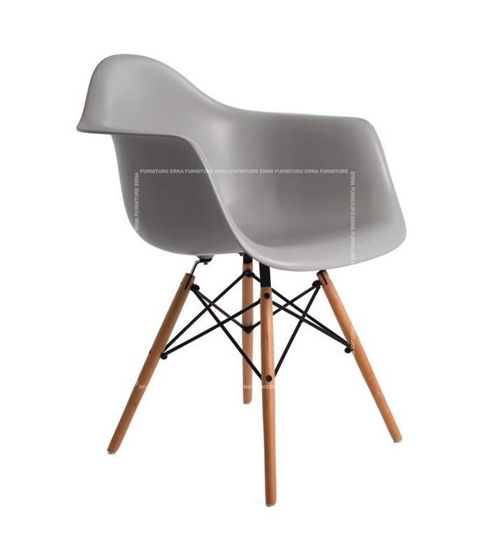 Charles-Ray-Eames-Style-DAW-Dining-Chair---ABS-Grey