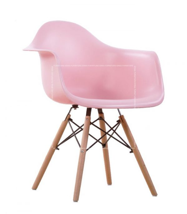 Charles-Ray-Eames-Style-DAW-Dining-Chair---PP-Polypropylene-pink