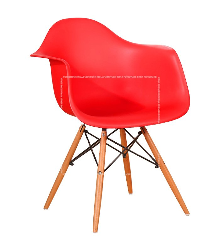 Charles-Ray-Eames-Style-DAW-Dining-Chair---PP-Polypropylene-red
