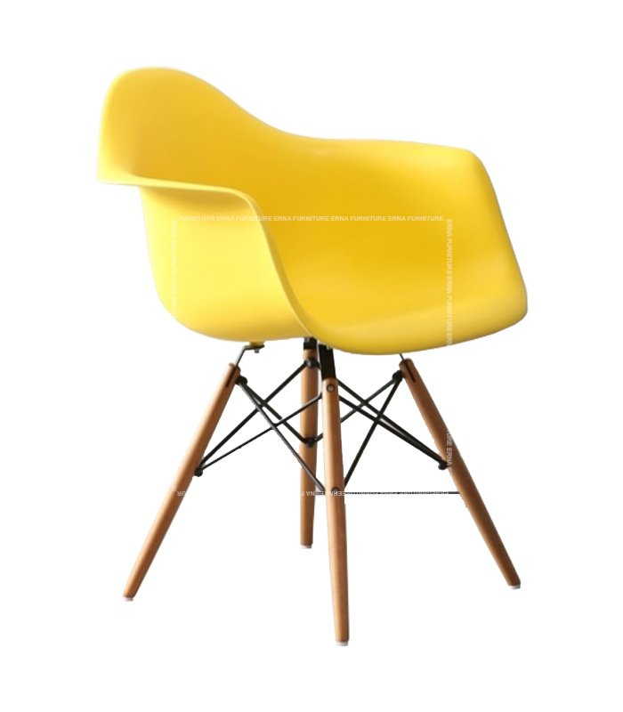 Charles-Ray-Eames-Style-DAW-Dining-Chair---PP-Polypropylene-yellow