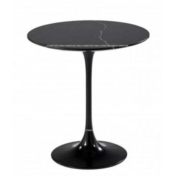 Eero Saarinen Tulip Style Marble Side Table..