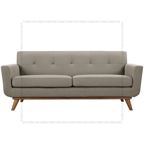 Kiruna 2 or 3 seater fabric sofa Grey