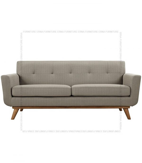 Kiruna 2 or 3 seater fabric sofa Grey