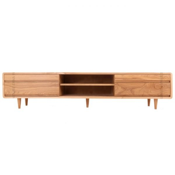 Oslo-Solid-Oak-Wood-TV-Cabinet--Oak