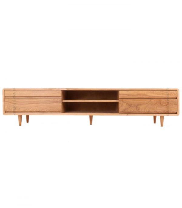 Oslo-Solid-Oak-Wood-TV-Cabinet--Oak