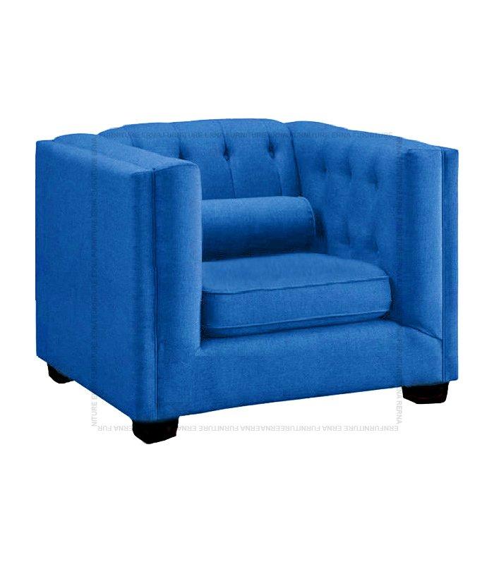Visby fabric sofa single seater