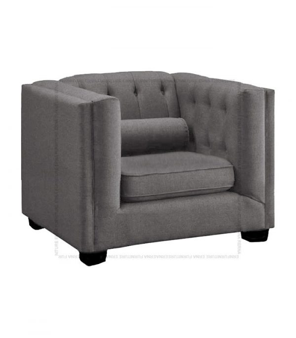 Visby fabric sofa single seater (2)