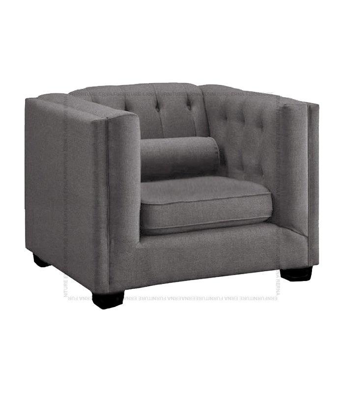 Visby fabric sofa single seater (2)