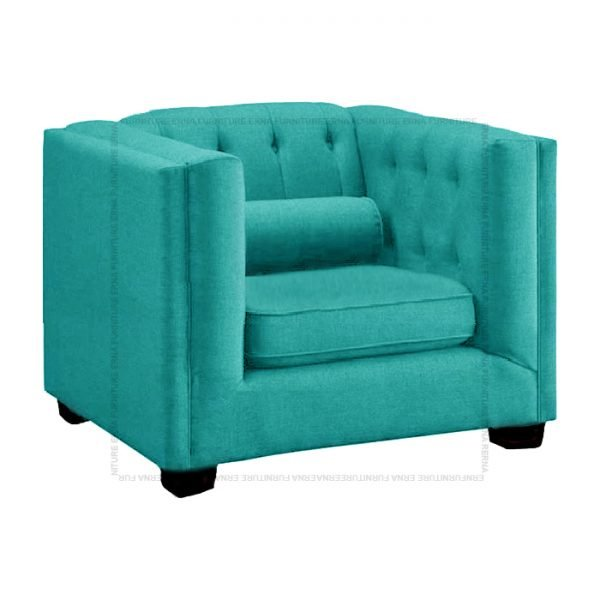 Visby fabric sofa single seater (1)