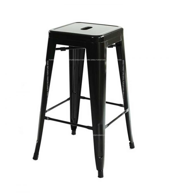 Xavier Pauchard Tolix Style Bar Stool (4)