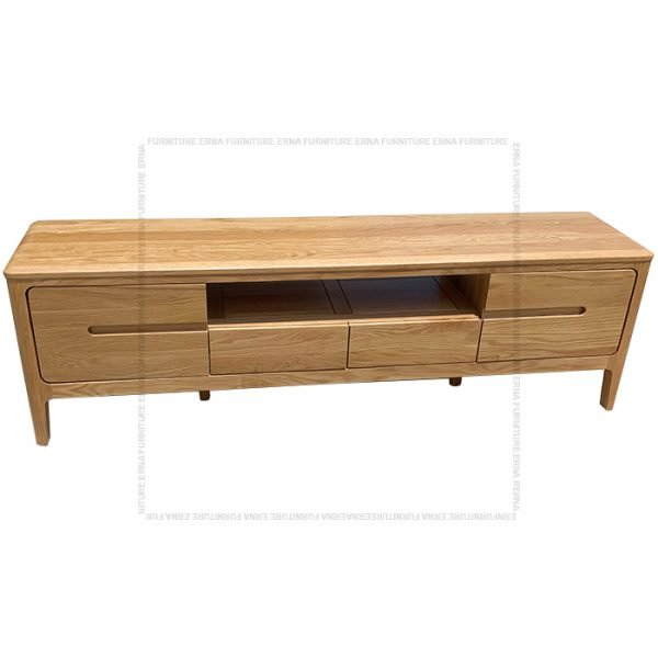 Celster Solid Oak Wood TV Cabinet (3)