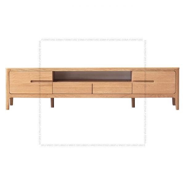 Celster Solid Oak Wood TV Cabinet