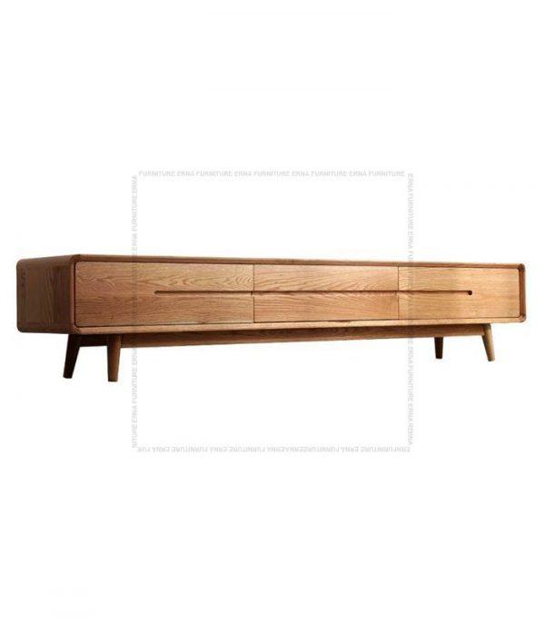 Modson Solid Oak Wood TV Cabinet