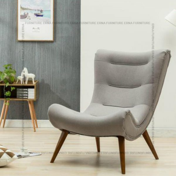 Snail Style Chair Grey