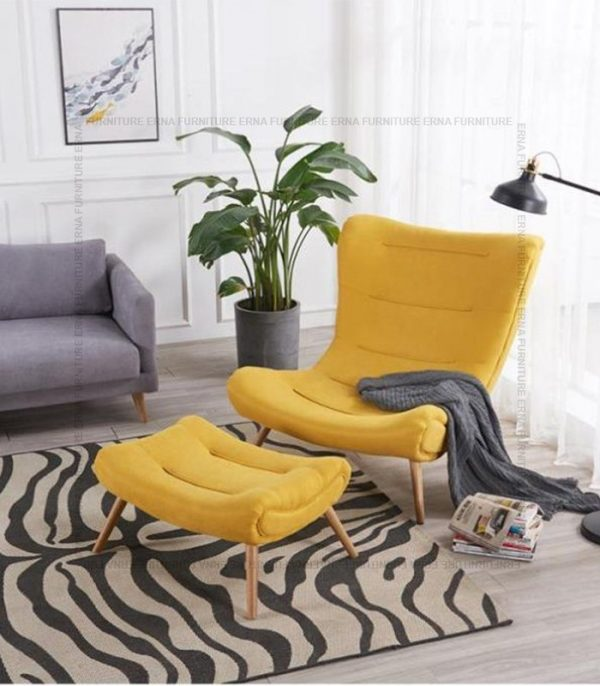 Snail Style Chair Yellow