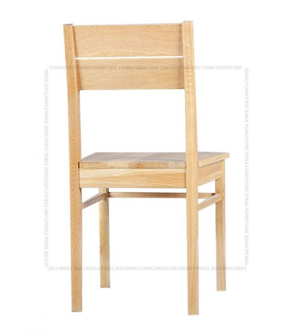 Solid Oak Wood Dining Chair (1)