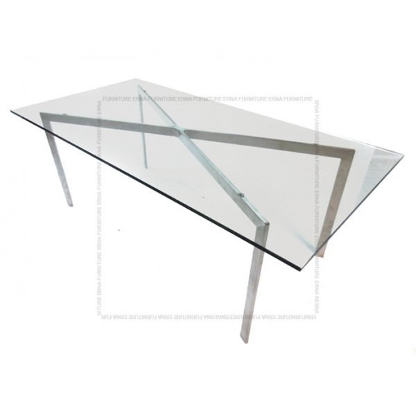 Barcelona Style Coffee Table Rectangular