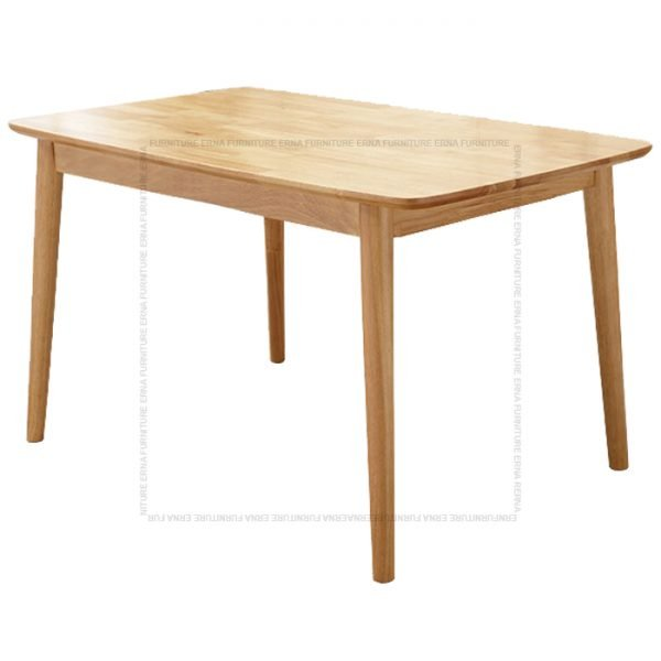 Deer Solid Oak Wood Rectangular shape Dining Table (2)