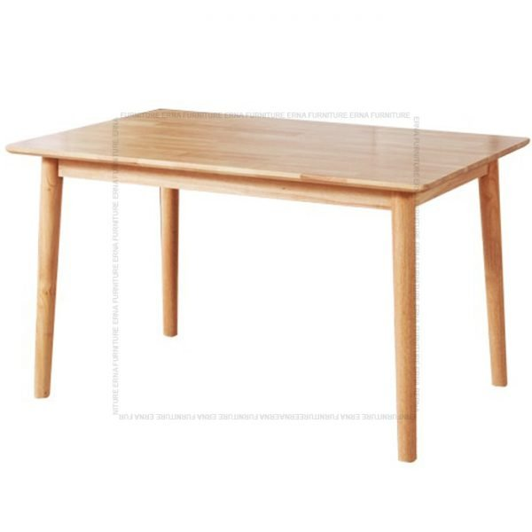 Deer Solid Oak Wood Rectangular shape Dining Table
