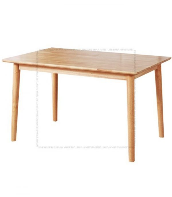 Deer Solid Oak Wood Rectangular shape Dining Table