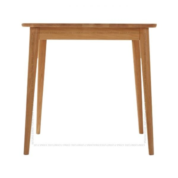Deer Solid Oak Wood Square Dining Table (1)
