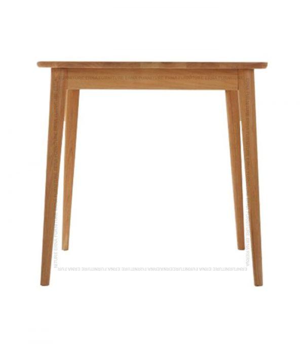 Deer Solid Oak Wood Square Dining Table (1)