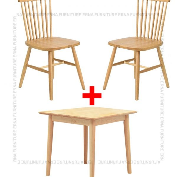 Deer Dining Table Set with wooden chair on Sale Furniture