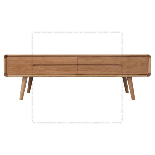 Modson Solid Oak Wood Coffee Table Oak
