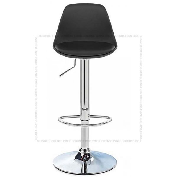 Swivel Adjustable Bar Stool Black