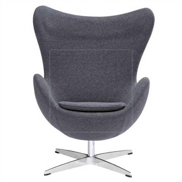 Arne-Jacobsen-Style-Fabric-Egg-Chair-Grey (1)