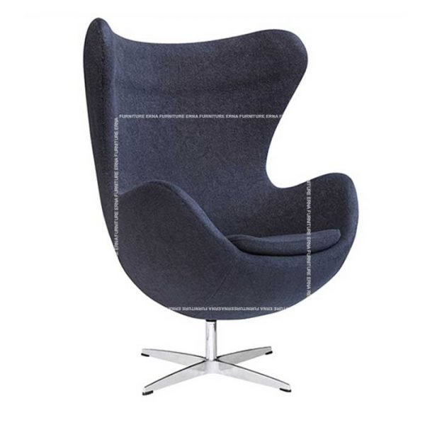 Arne-Jacobsen-Style-Fabric-Egg-Chair-Grey