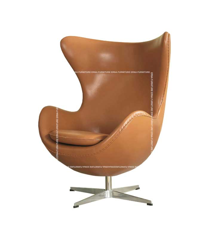 Arne-Jacobsen-Style-Leather-Egg-Chair-Lounge-Chair