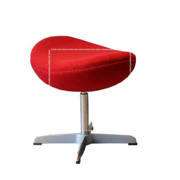 Arne-Jacobsen-Style-fabric-Lounge-chair-Ottoman