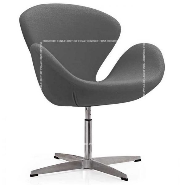 Arne-Jacobsen-Style-Swan-Chair-Grey