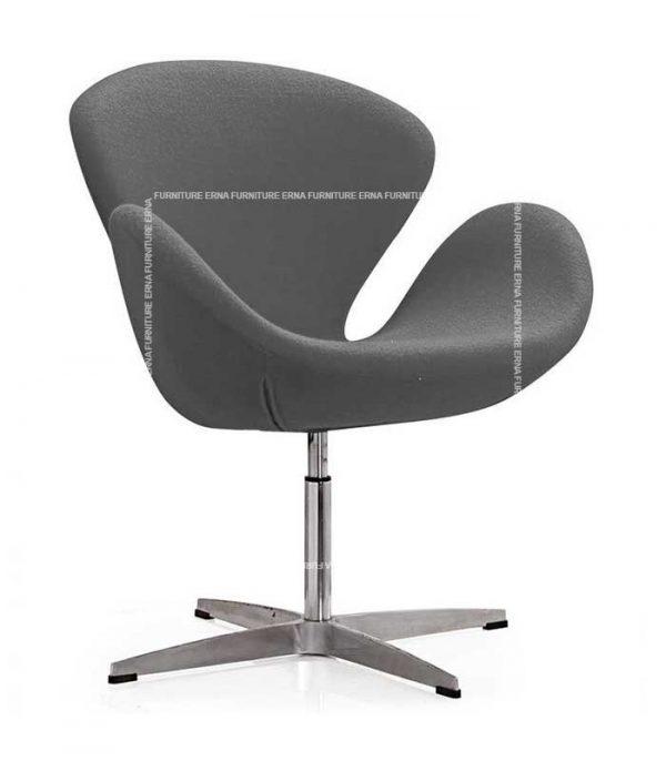 Arne-Jacobsen-Style-Swan-Chair-Grey