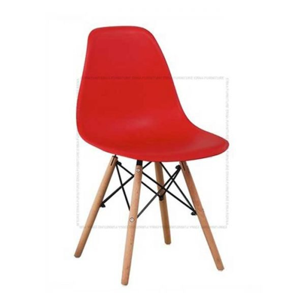 Eames-DSW-Style-Kids-Side-Chair Red
