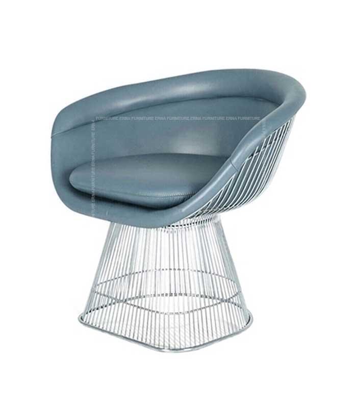 Warren-Platner-Style-Silver-Wire-Dining-Chair (2)