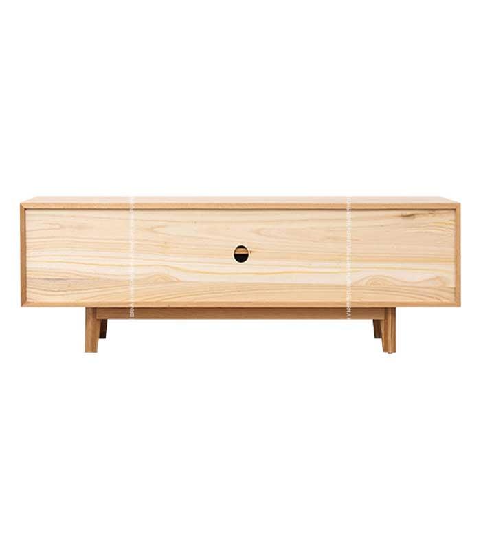 Williston-Solid-Oak-Wood-TV-Cabinet-Hong-Kong-Black