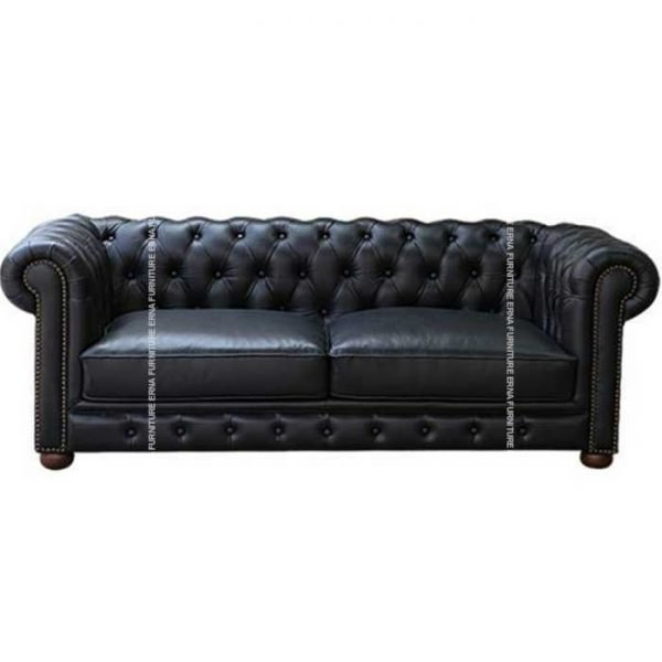 1,2 and 3 Seater Chesterfield Leather Sofa