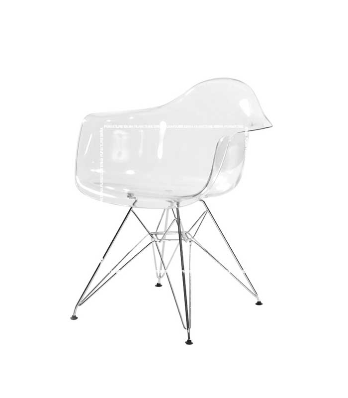 DSR Eames Style Eiffel Dining Chair-Transparent (1)