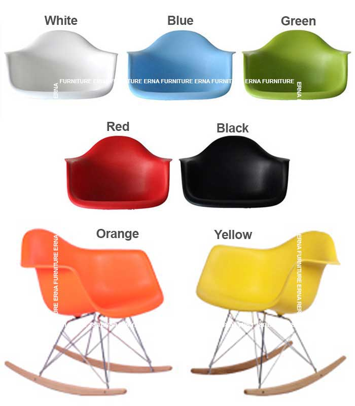 RAR Eames Style Rocking Chair (2)
