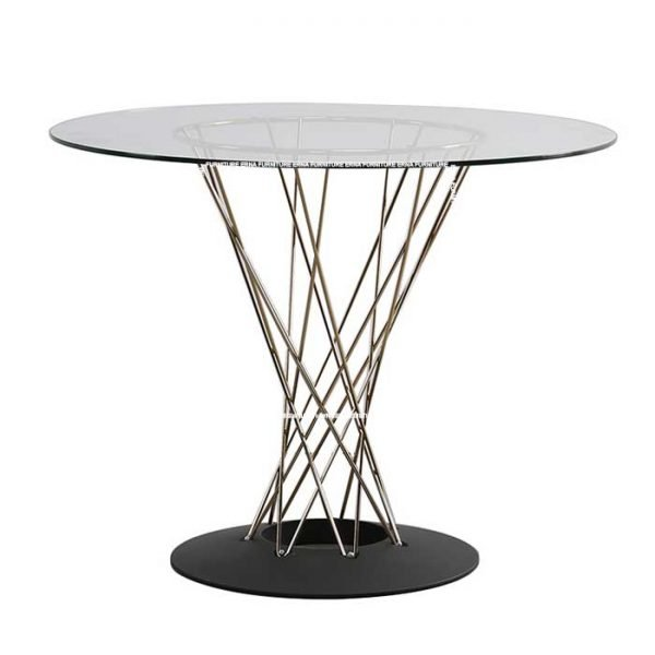 Isamu-Noguchi-Style-Cyclone-Dining-Table-in-Glass (2) Hong Kong Furniture