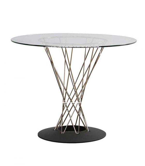 Isamu-Noguchi-Style-Cyclone-Dining-Table-in-Glass (2) Hong Kong Furniture