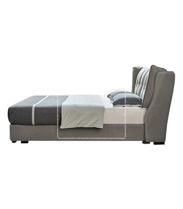 Simon Upholstered Bed Frame with Storage (3)