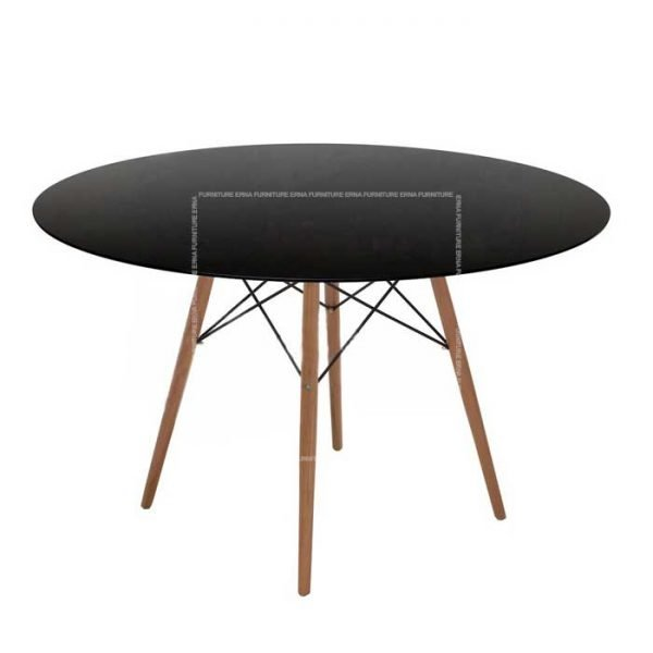 Eames-DSW-Style-Round-Dining-Table-Black