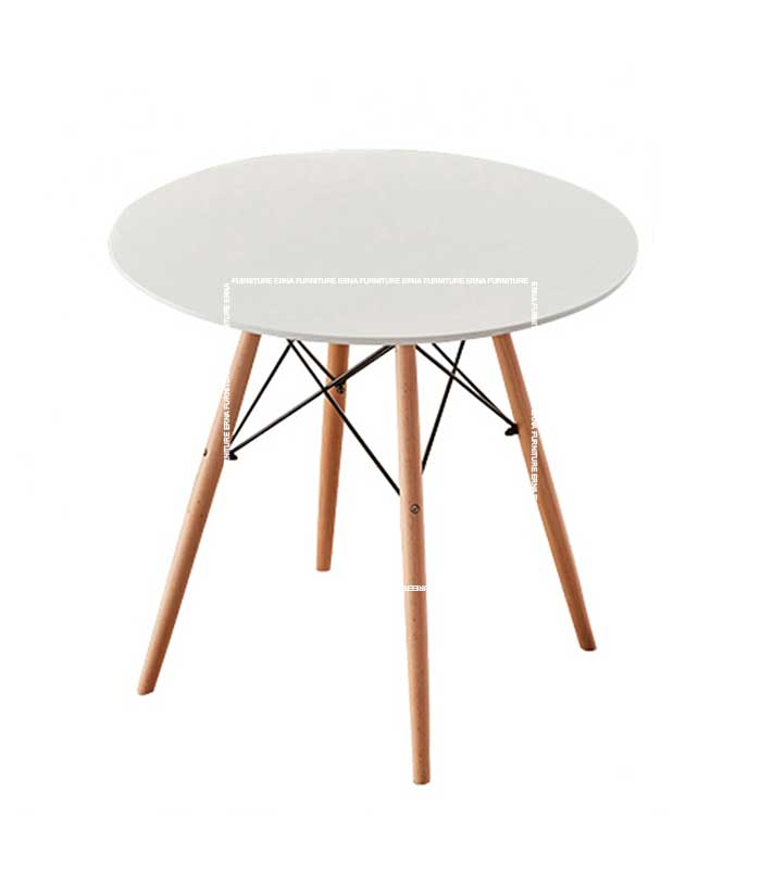 Eames-DSW-Style-Round-Dining-Table-White Hong Kong Furniture