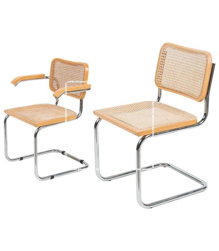 Marcel Breuer Style Cesca Cane Chair (1)