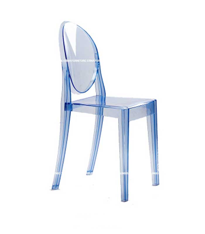 Ghost Victoria Style Transparent Dining Chair - Stackable (7)