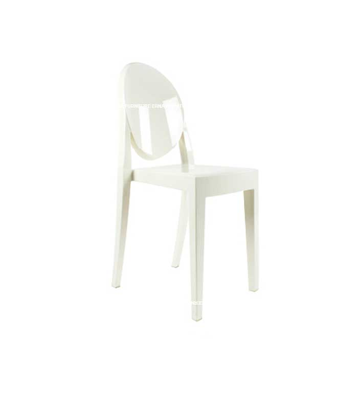 Ghost Victoria Style Transparent Dining Chair - Stackable (9)